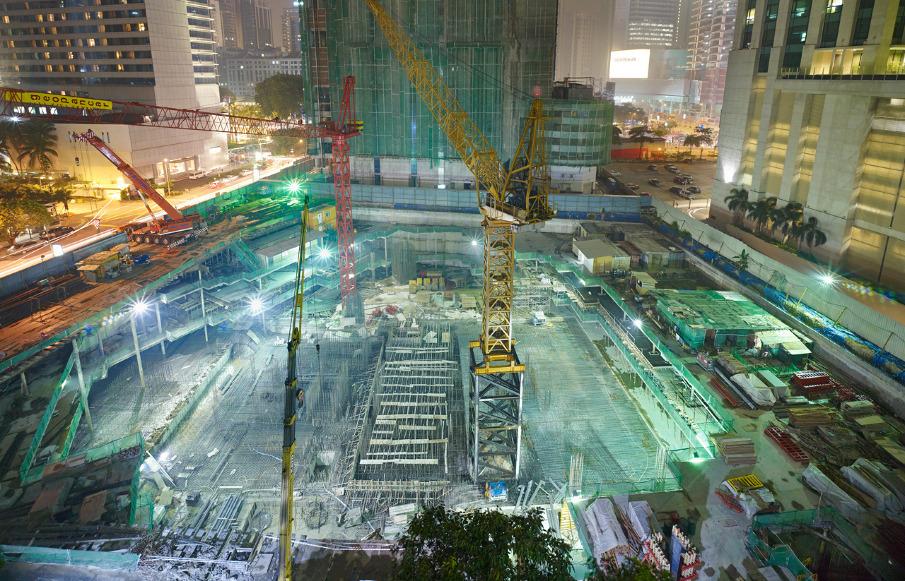 Giải pháp thiết kế và thi công tầng hầm nhà cao tầng