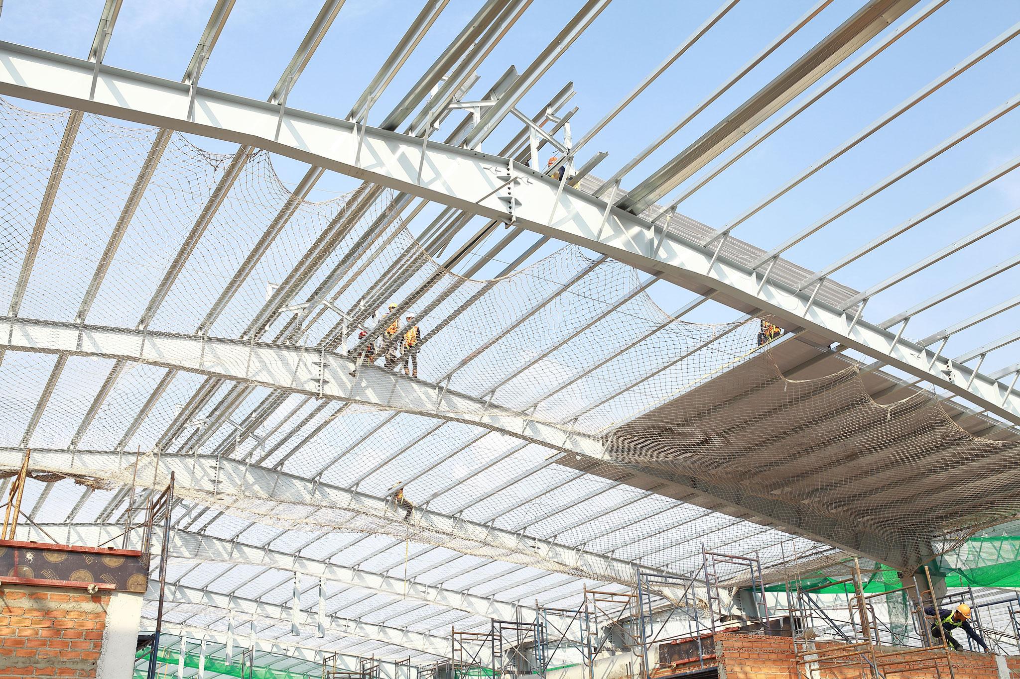 Quy trình lắp dựng tôn mái
