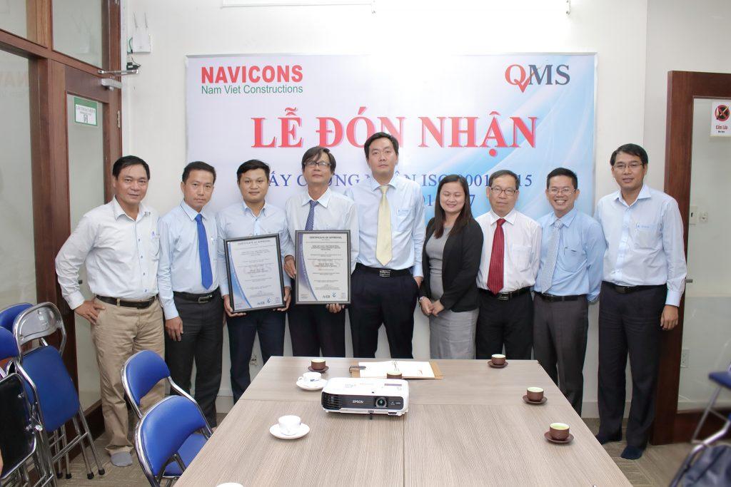 Hệ thống chất lượng ISO 9001:2015 và hệ thống sức khỏe an toàn nghề nghiệp OHSAS